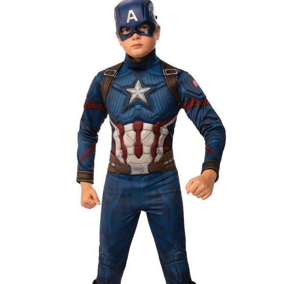 Captain America Endgame Child Costume Large